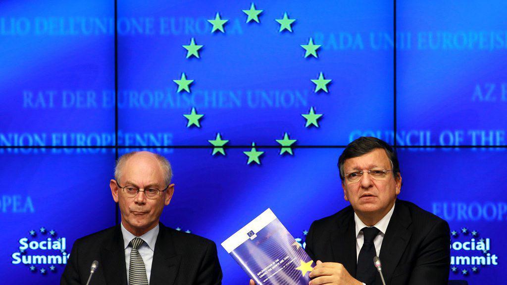 José Manuel Barroso a Herman Van Rompuy