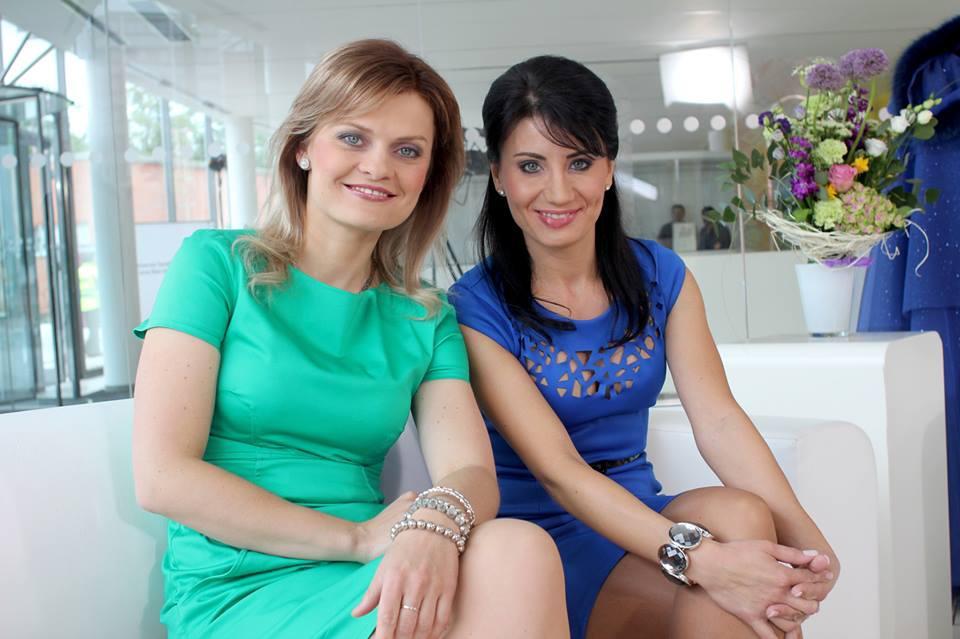 Tereza Stýblová s kolegyní Soňou Šulákovou