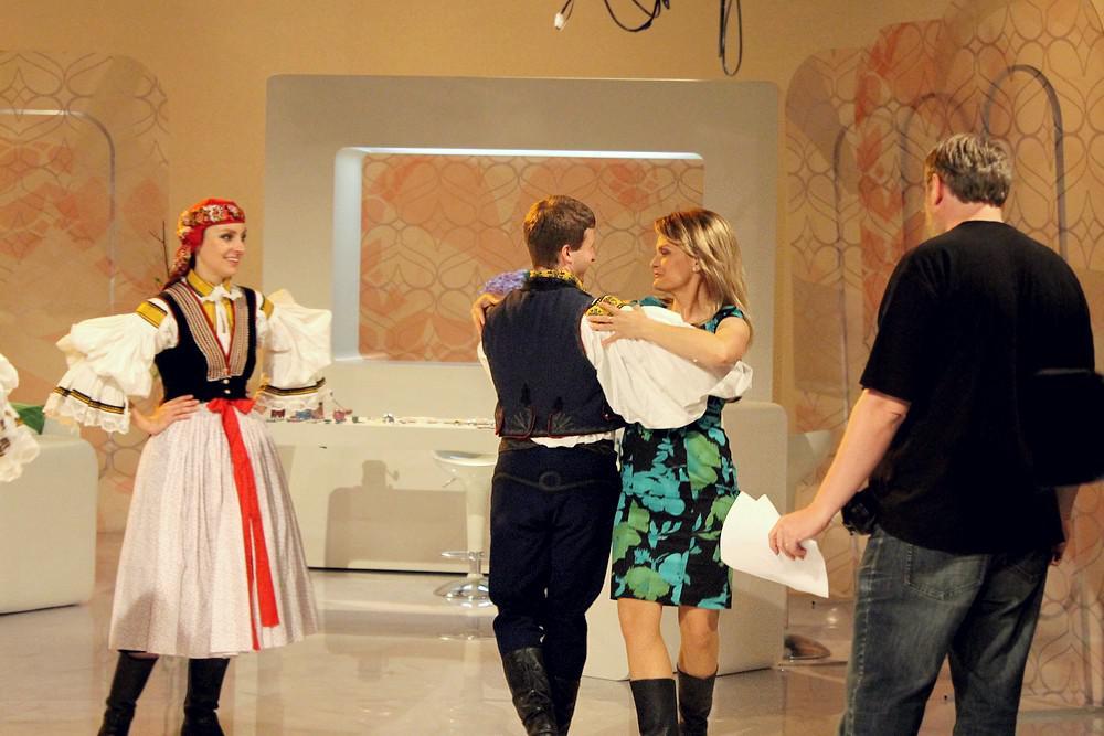 Tereza Stýblová v pořadu Sama doma