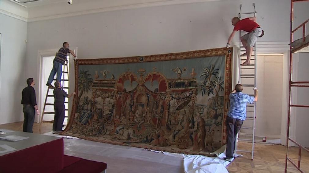 Do Valtic přijel i zástupce knížecích sbírek Lichtenštejnů
