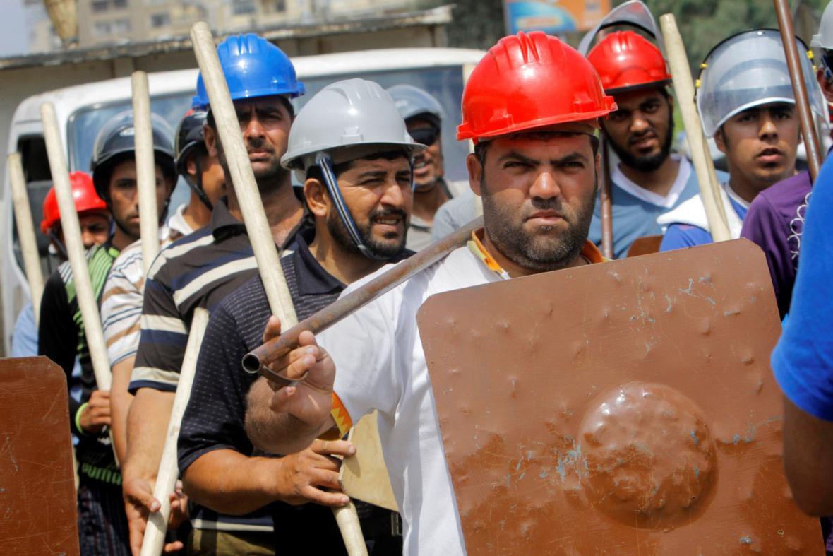 Podporovatelé prezidenta Mursího