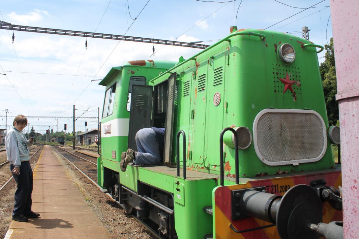 Z železničního muzea Výtopna Jaroměř