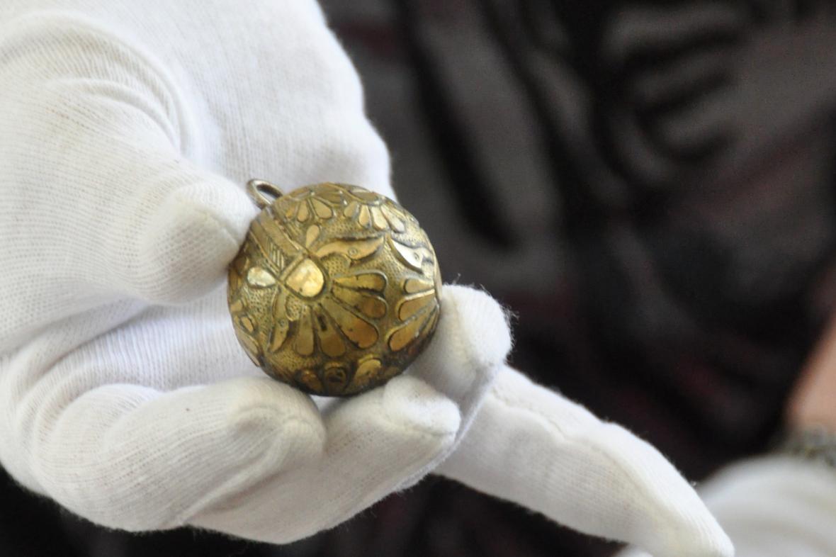 Zlatý gombík z Pohanska