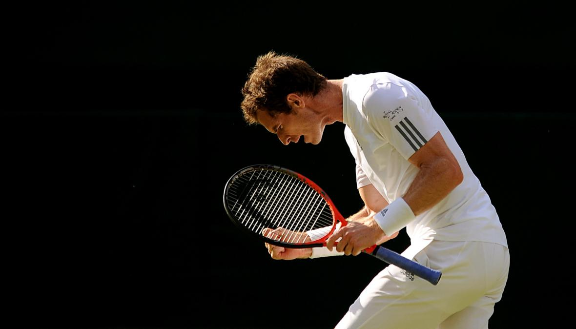 Andy Murray na Wimbledonu