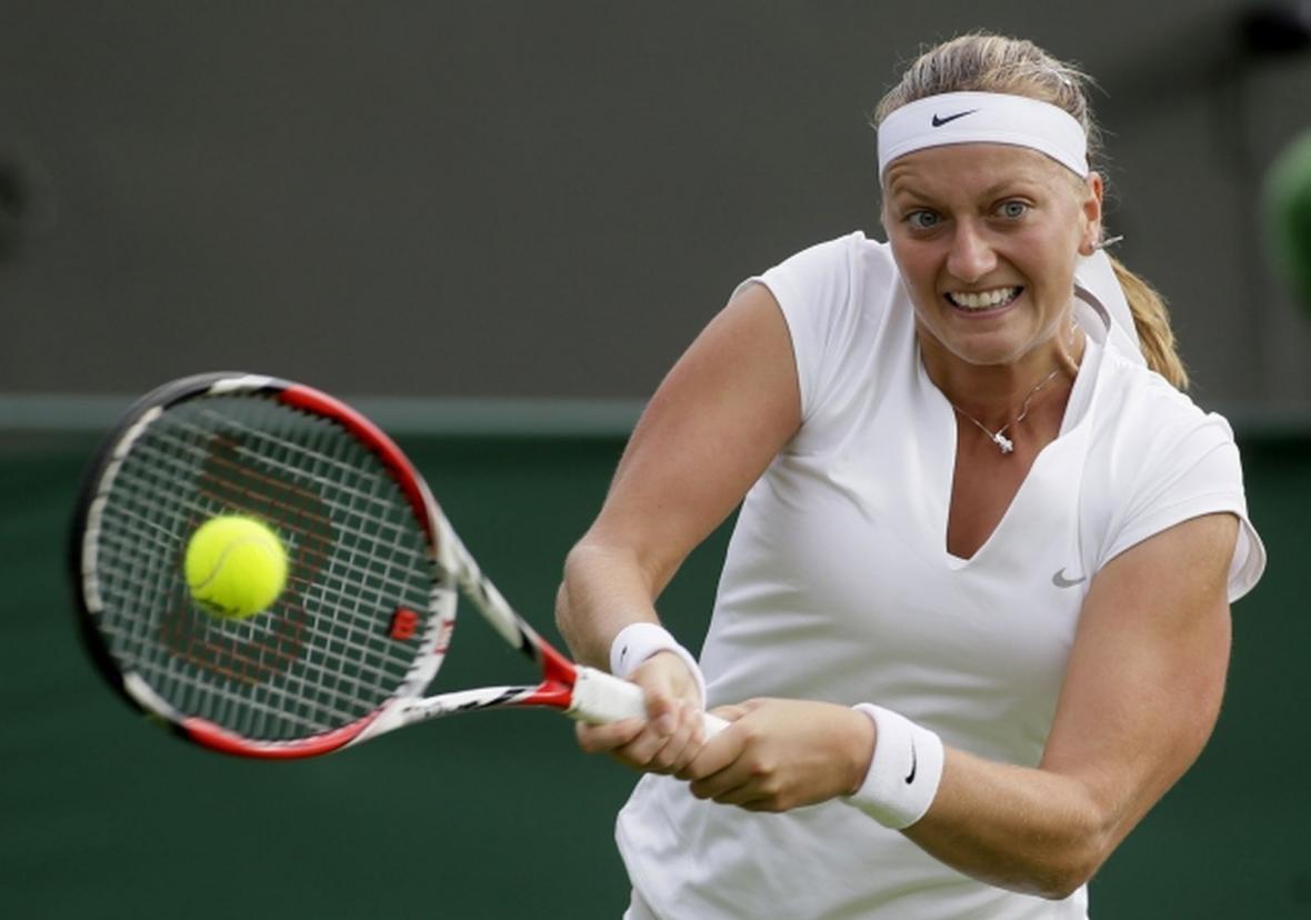 Petra Kvitová na Wimbledonu