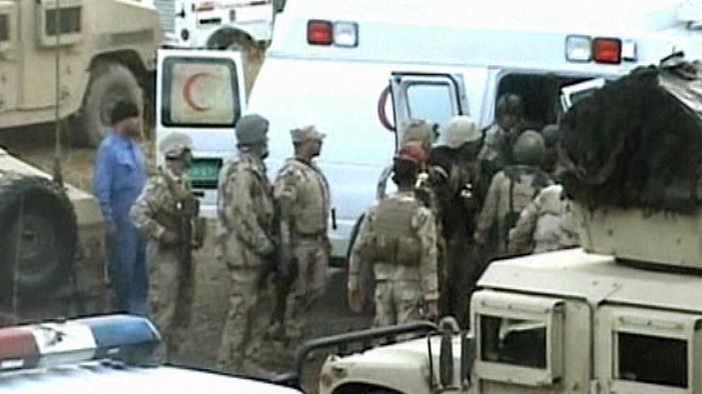 Irácké pořádkové síly