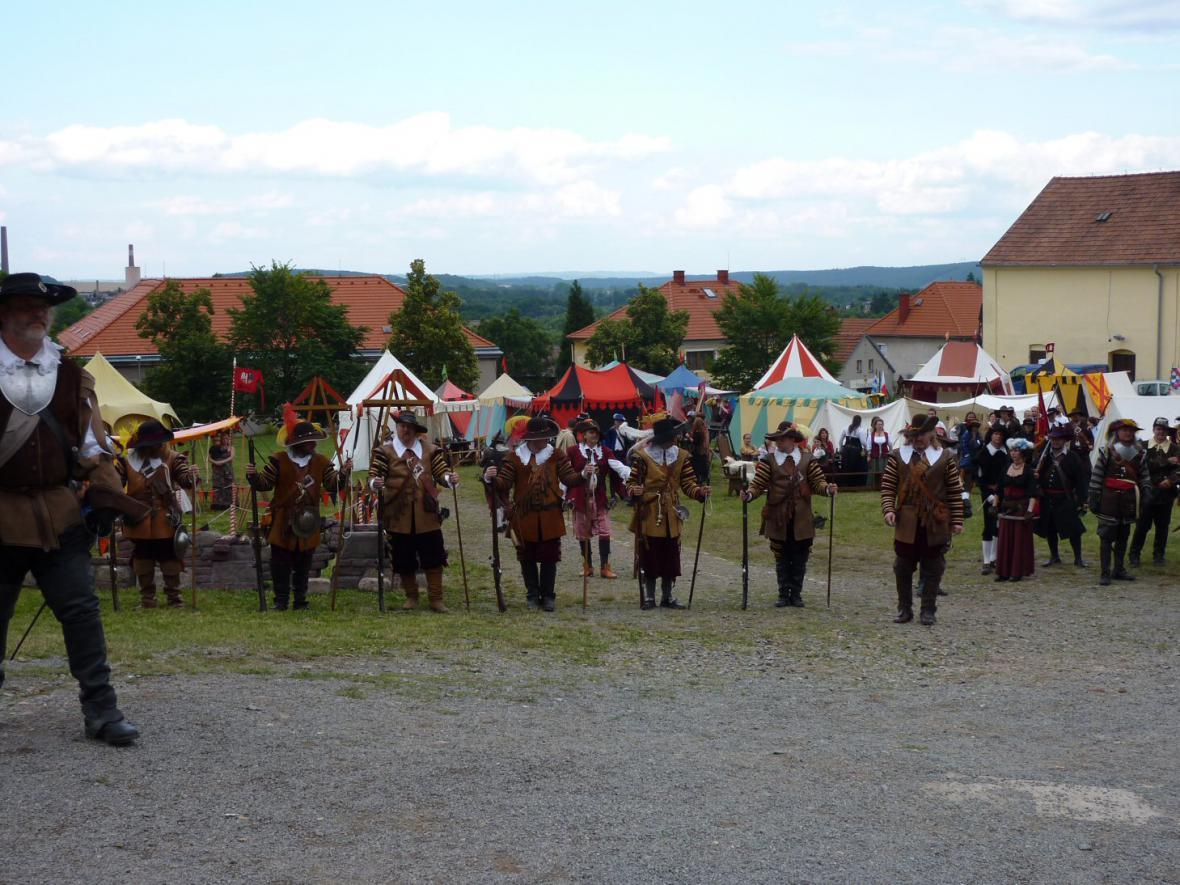Bitva o zámek Mníšek pod Brdy