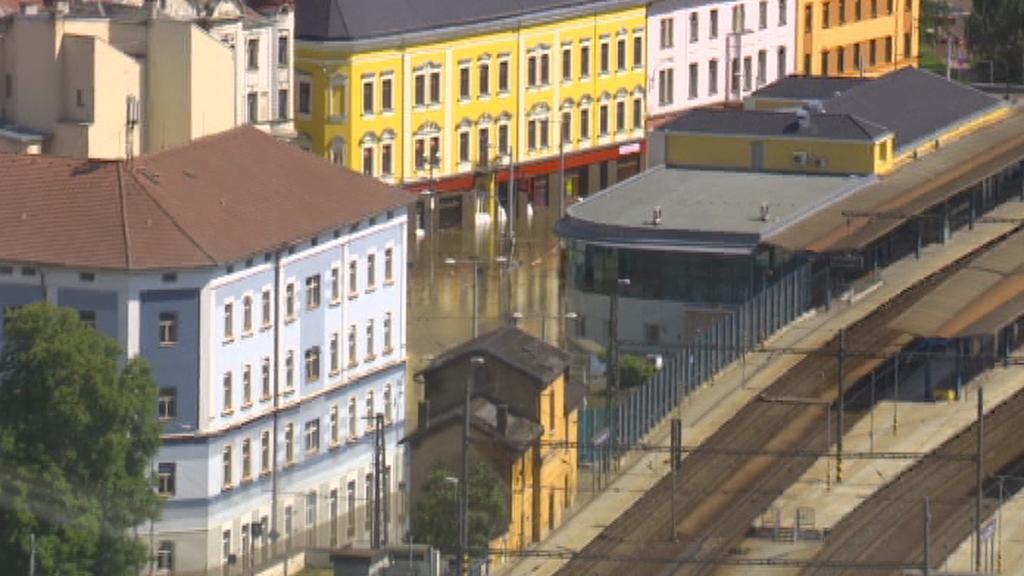 Povodeň ve Ústí nad Labem