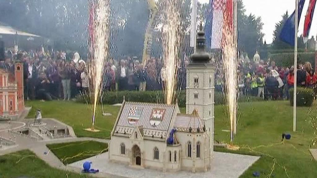 Belgický zábavní park Minievropa se rozšířil o chorvatskou atrakci