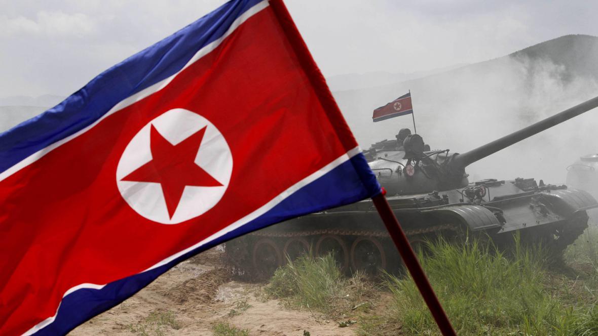 Severokorejské vojenské cvičení