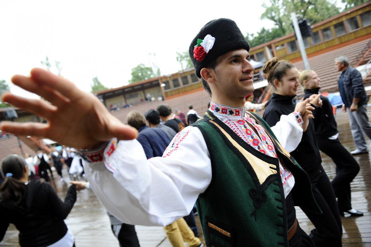 Tanečník z Bulharska