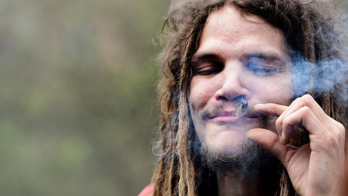 Pochod za legalizaci marihuany