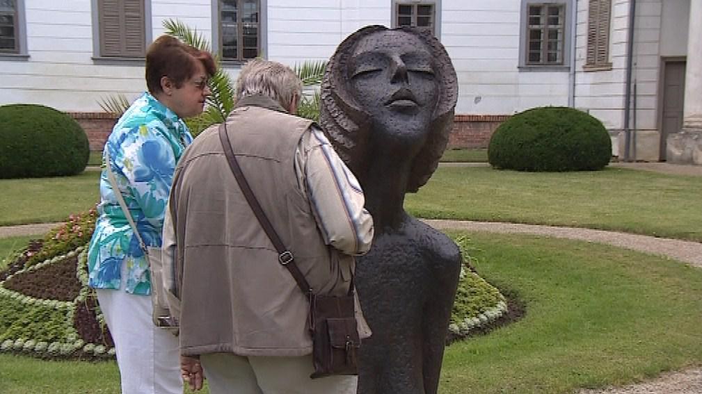 Zoubek už v Lysicích vystavoval před dvěma lety