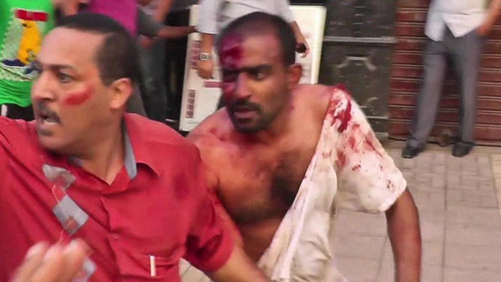 Davové násilnosti v Egyptě