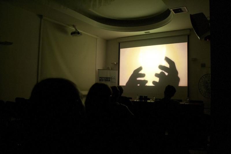 Projekce filmů o.s. PANT ve Varšavě