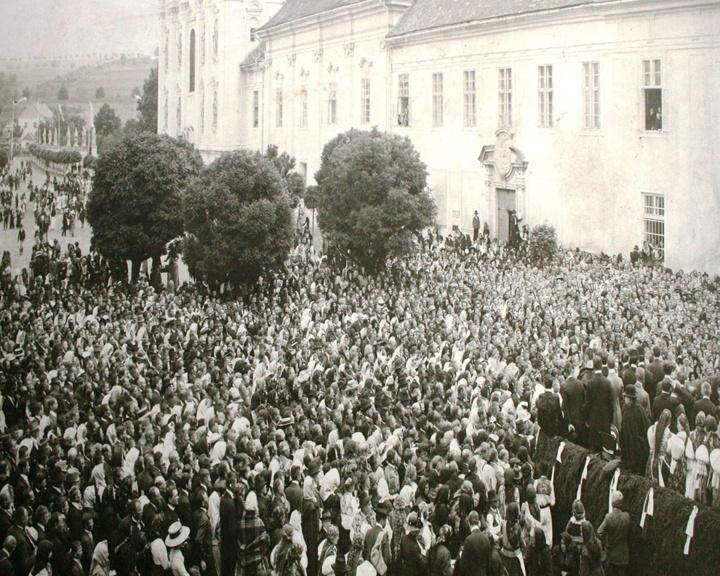 Velehradská pouť na počátku 20. století
