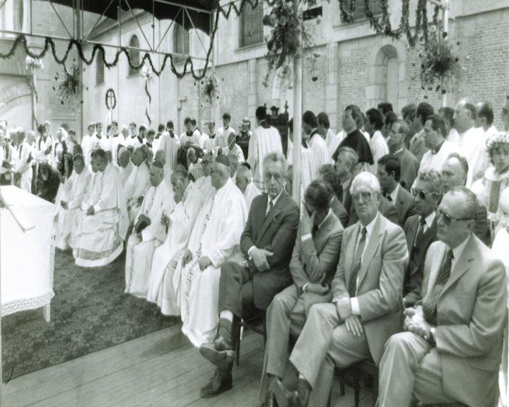 Komunističtí zástupci na Velehradě (1985)