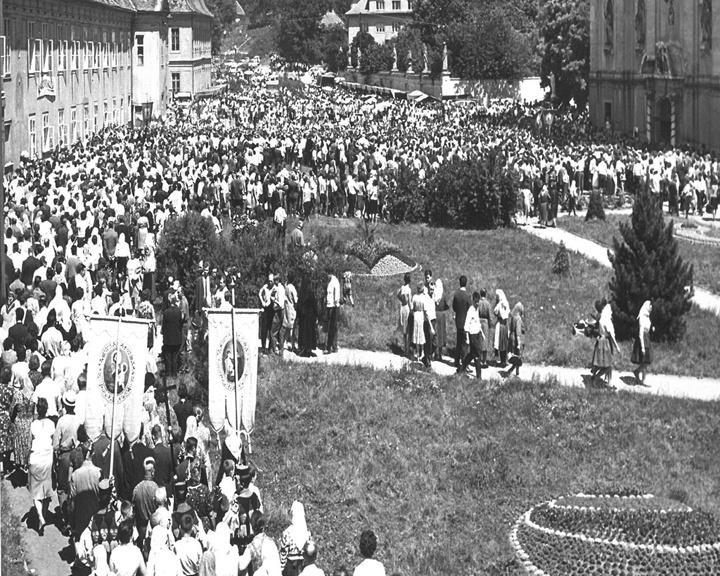 Velehradská pouť z roku 1963