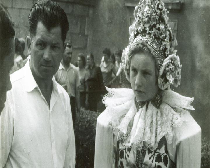 Snímek z pouti z roku 1963