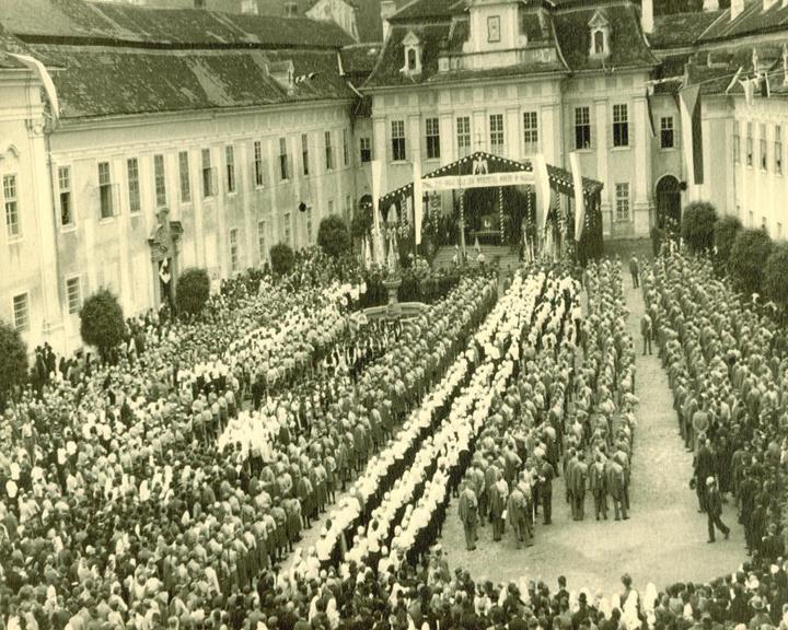 Orelská pouť 23. srpna 1936