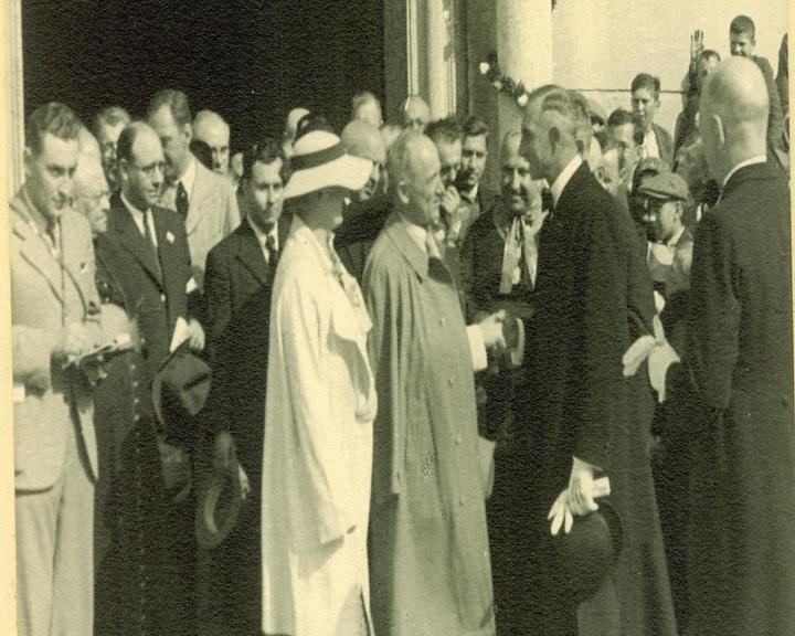 Prezident Beneš na Velehradě (1936)