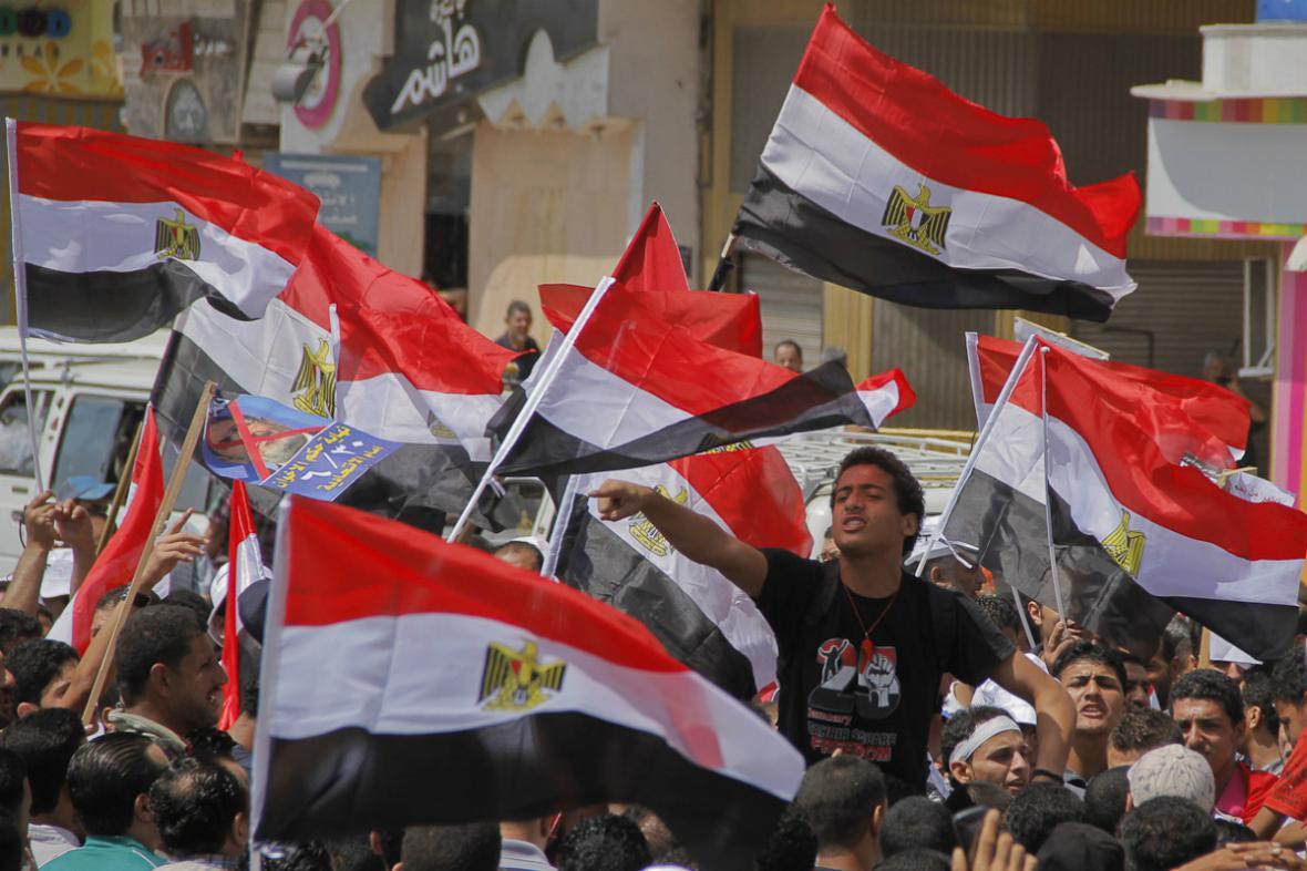Odpůrci prezidenta Mursího