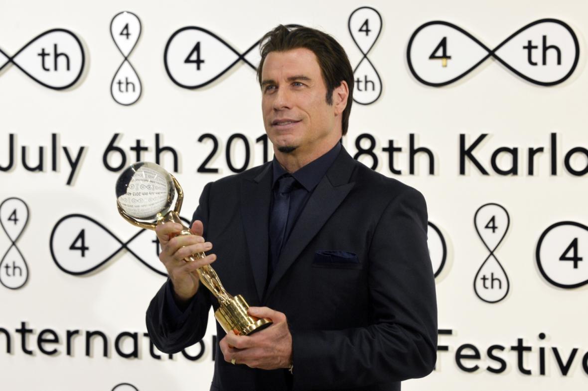 John Travolta na 48. MFF Karlovy Vary