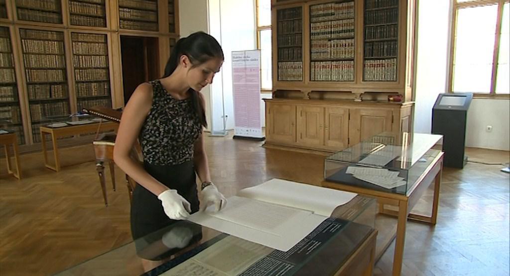 Partitura na kroměřížském zámku čekala dvě stě let
