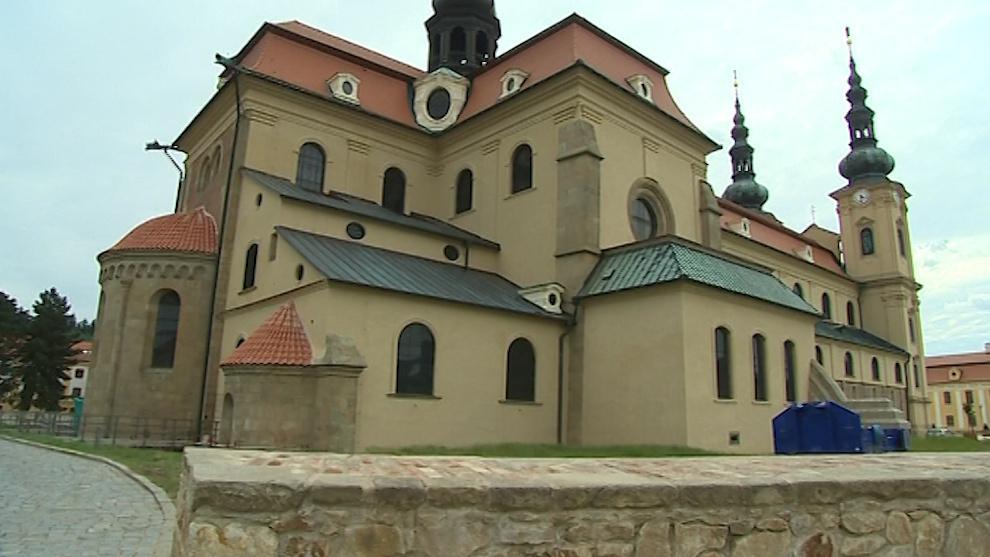 Po tříleté rekonstrukci se bazilika předvede v plné kráse