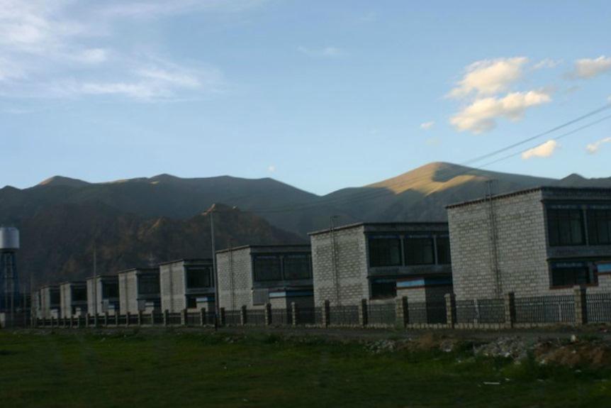 Socialistická vesnice v Tibetu
