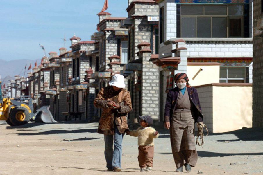 Tibeťané v socialistické vesnici