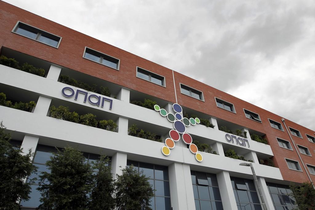 Sídlo řeckého loterijního monopolu OPAP v Athénách