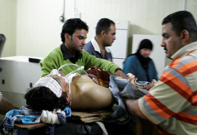 Oběť útoku v Iráku