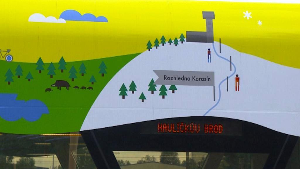 Turistické vlaky na Vysočině
