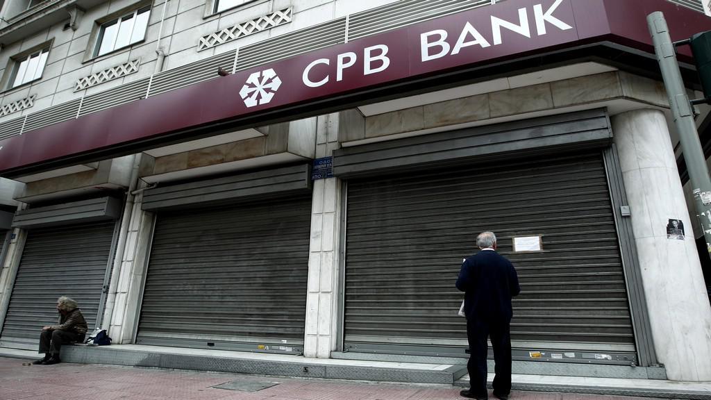 Banky na Kypru uzavřeny