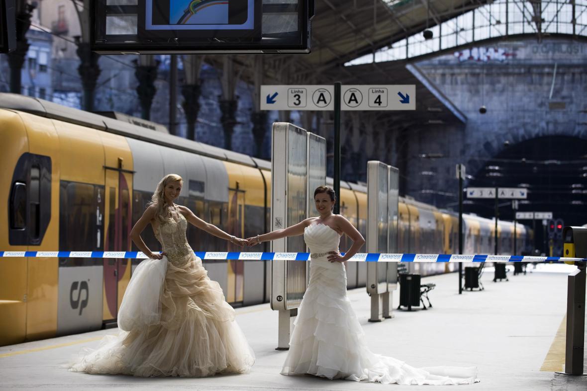 Svatba během stávky v Portugalsku