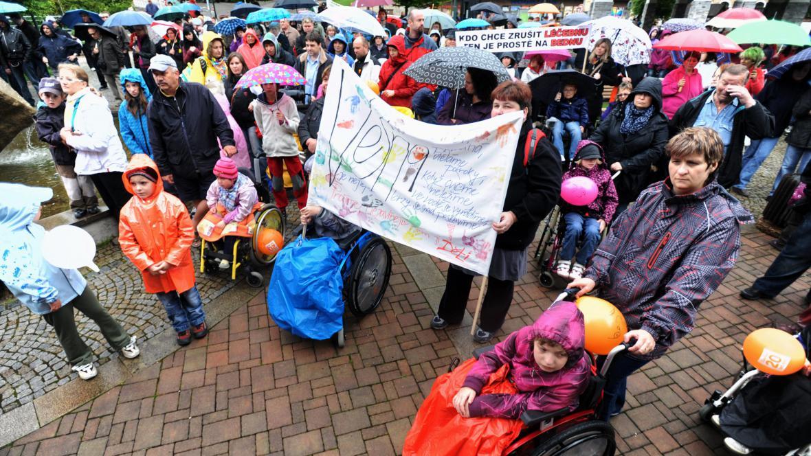 Demonstrace za záchranu Vesny
