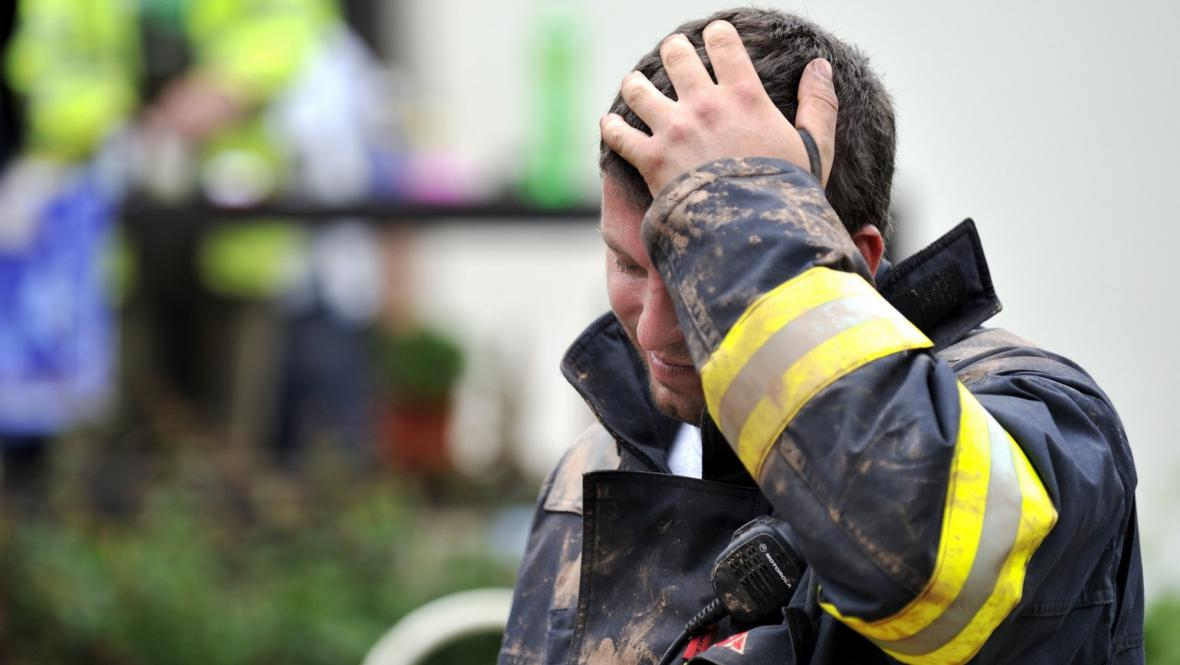 Dobrovolný hasič