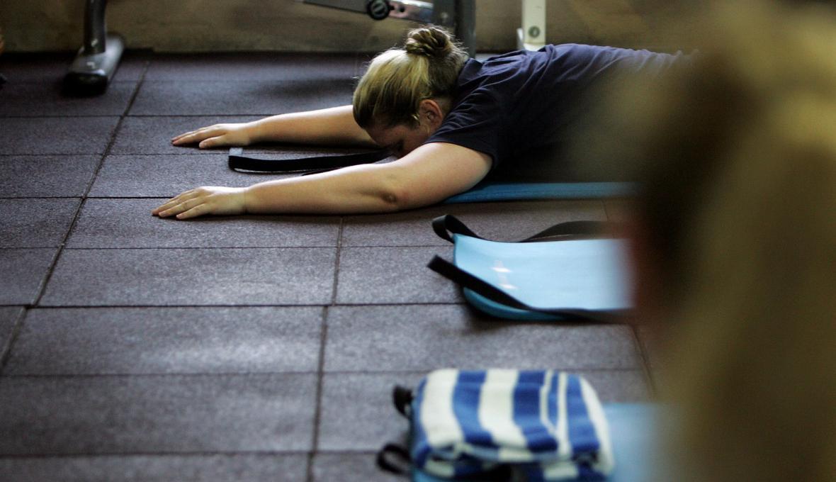 Cvičení v posilovně