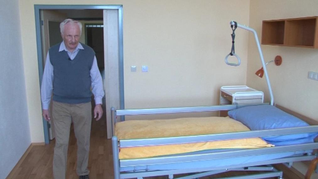 Interiér nového domova pro seniory ve Znojmě