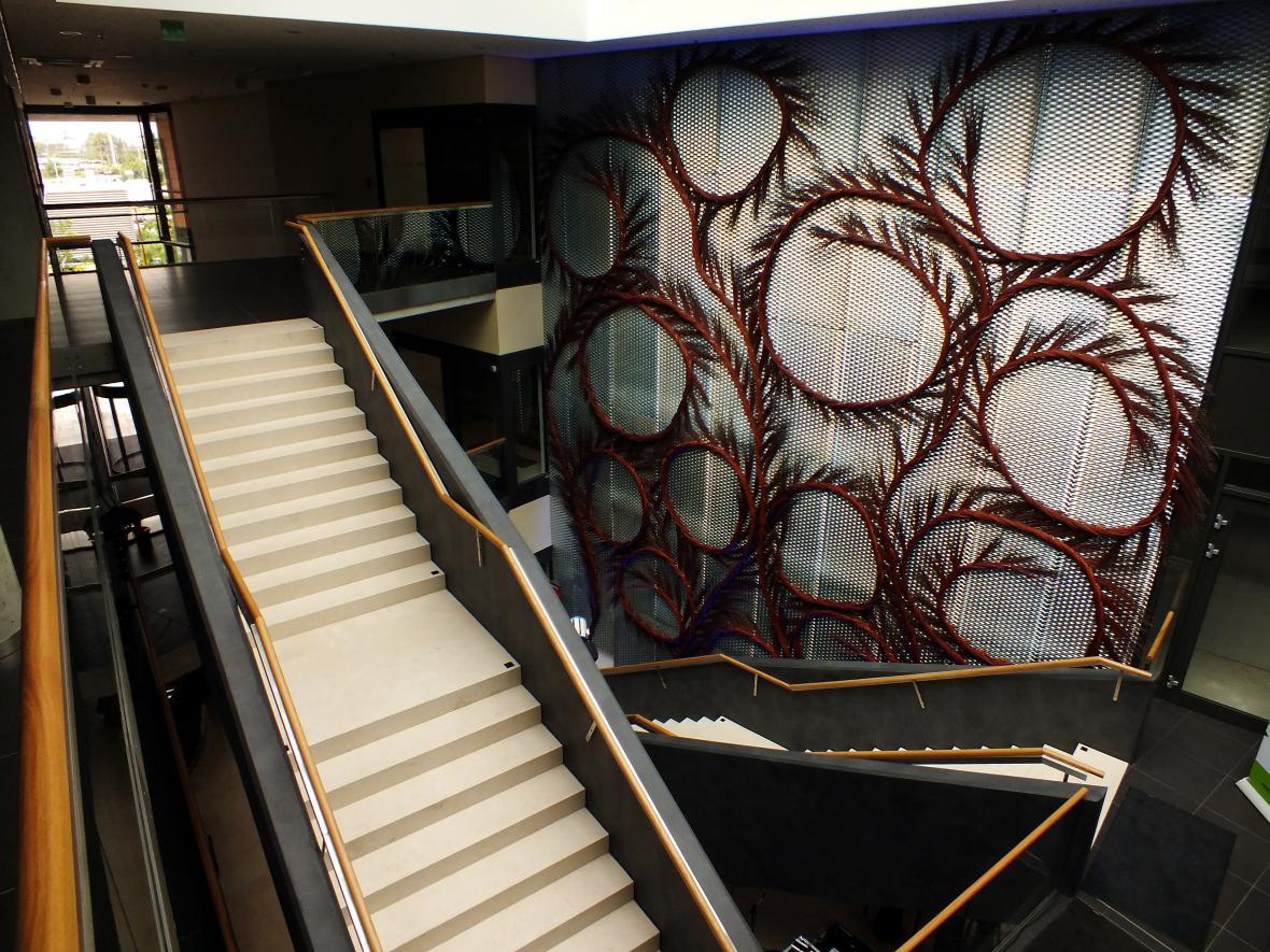 Interiér nové brněnské výškové budovy