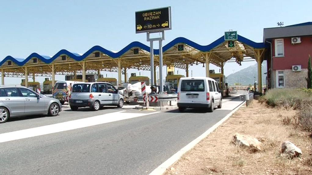 Platba mýtného v Chorvatsku