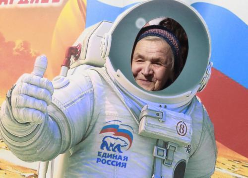 Rusko slaví výročí Gagarinova letu do vesmíru
