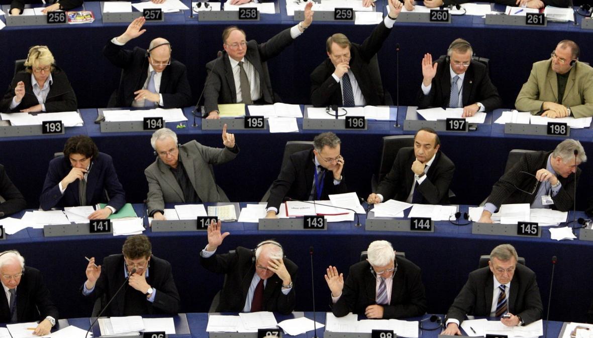 Hlasování Evropského parlamentu