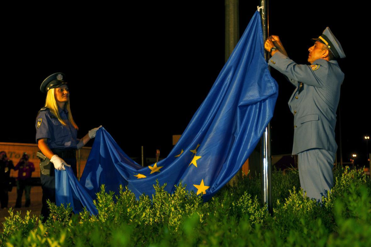 Chorvatsko vstoupilo do EU