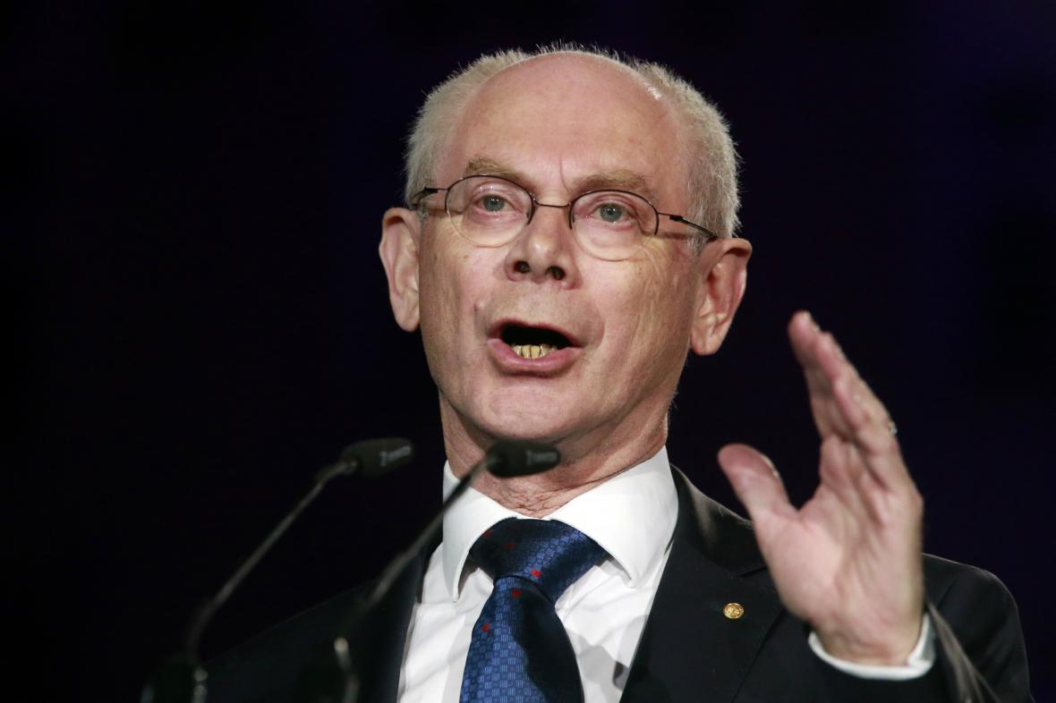 Herman Van Rompuy přivítal Chorvaty v EU