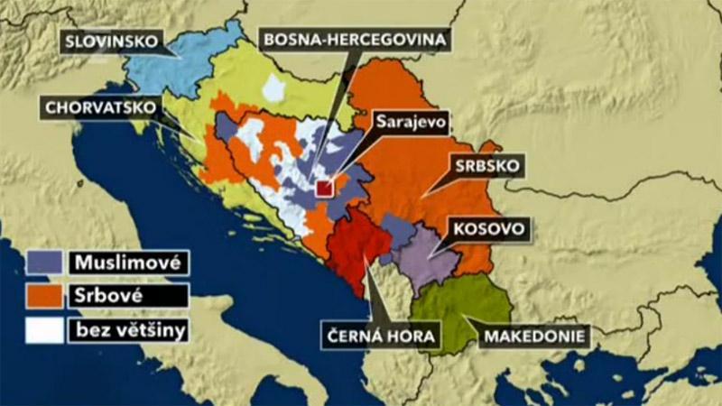 Bývalá Jugoslávie