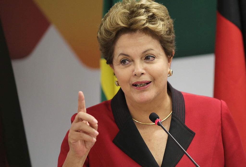 Brazilská prezidentka Dilmah Rousseffová