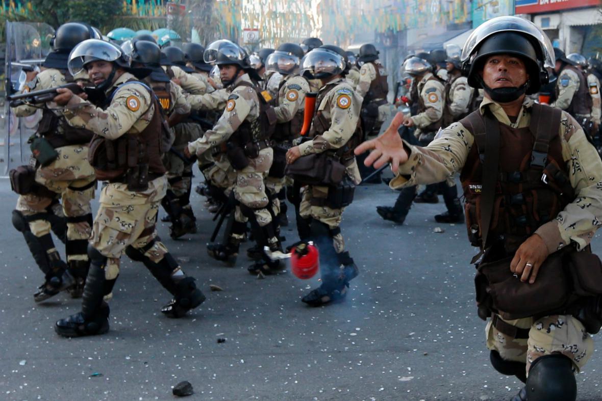 Nepokoje v Brazílii