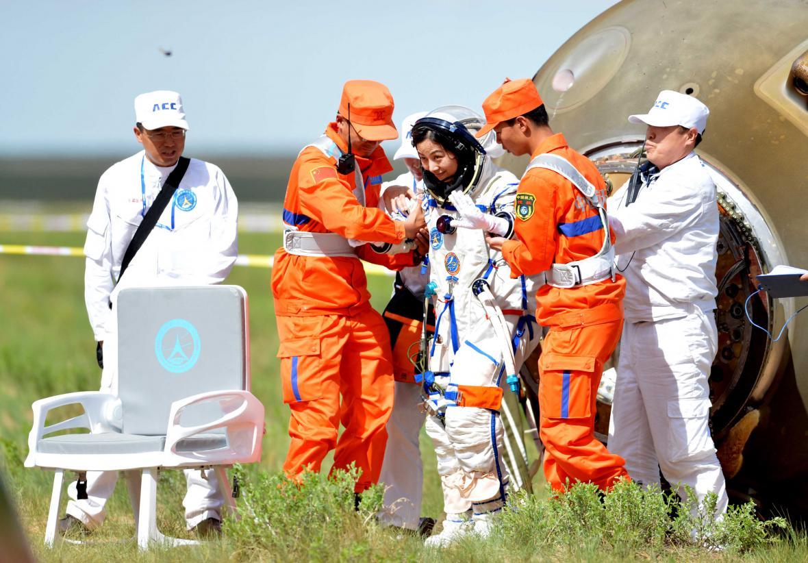 Přistání ve Vnitřním Mongolsku